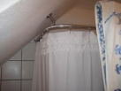 Sloped Ceiling Shower Curtain Rods To Improve Your Bathroom Space